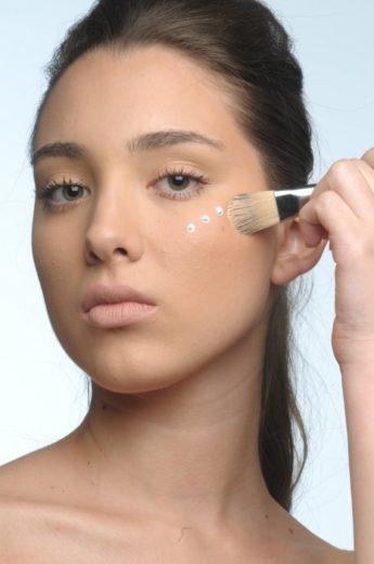 Preparando a pele, maquiagem