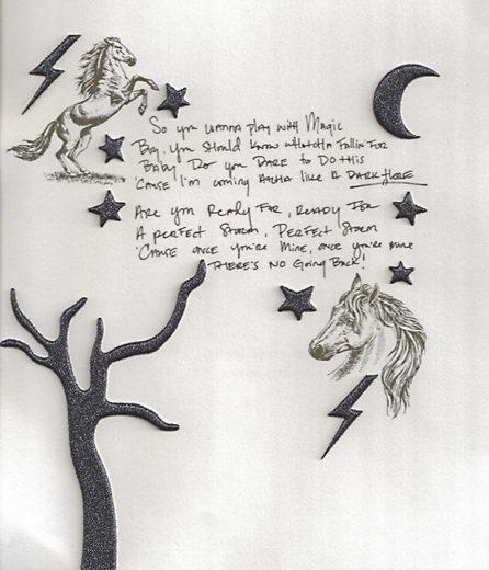 """letra de """"dark horse"""""""