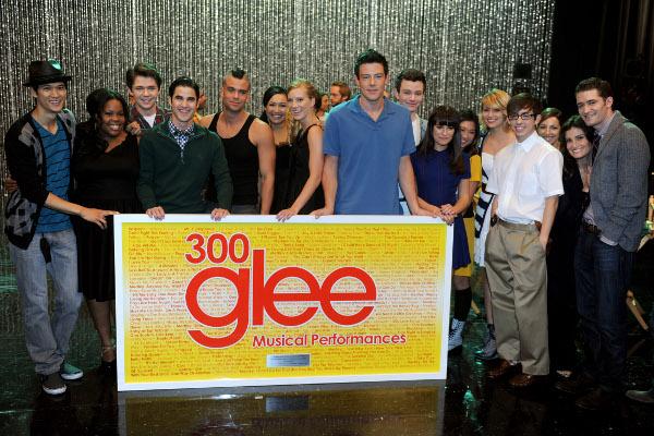 elenco da série Glee