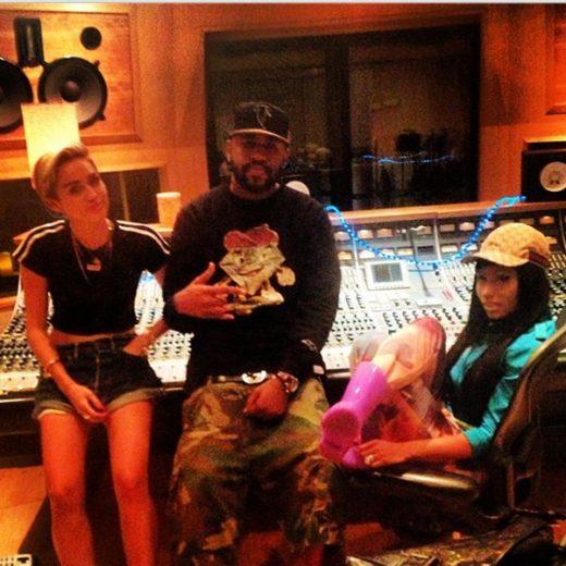 Miley Cyrus, Mike e Nicki Minaj