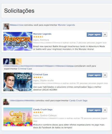 Bloquear Aplicativos Facebook
