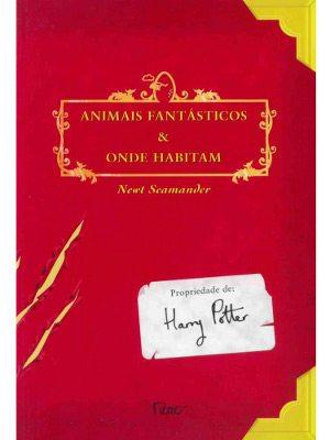 """livro """"Animais Fantásticos e Onde Habitam"""""""