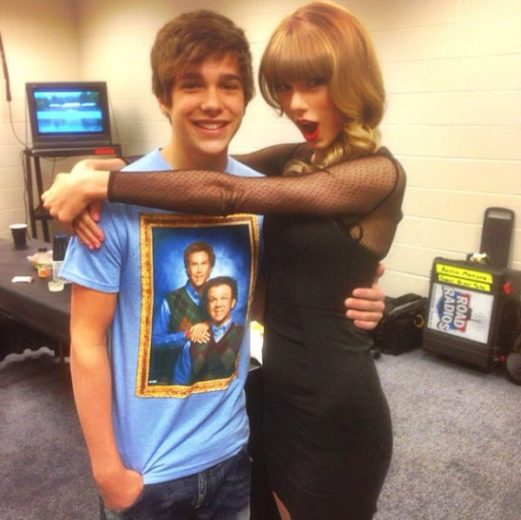Austin Mahone e Taylor Swift