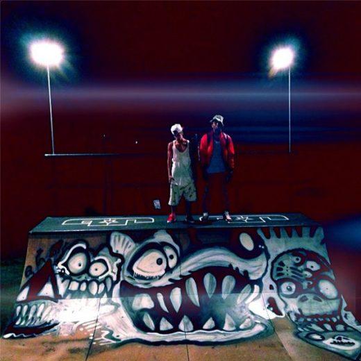 Justin Bieber e Chris Brown