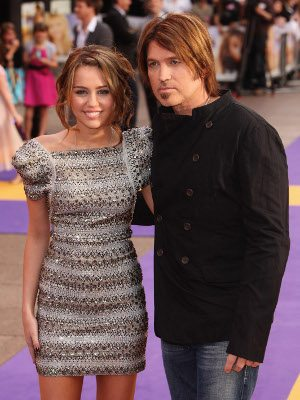 Miley Cyrus e Billy Ray Cyrus