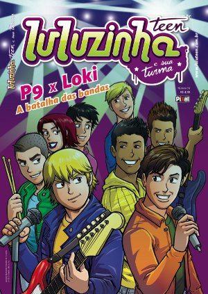 capa da edição 54 de luluzinha teen