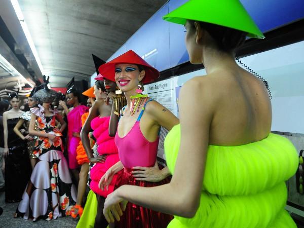 SPFW desfile metro