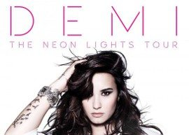"Demi Lovato anuncia a 'Neon Lights Tour"" para 2014"