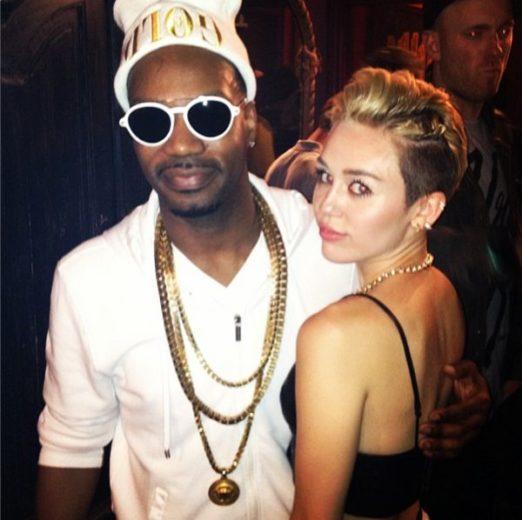 Juicy J e Miley Cyrus