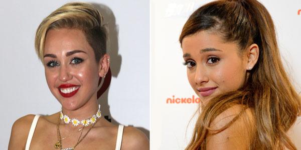 Miley Cyrus e Ariana Grande