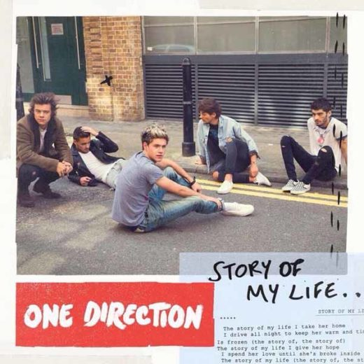 Capa do singles Story of my Life, da One Direction