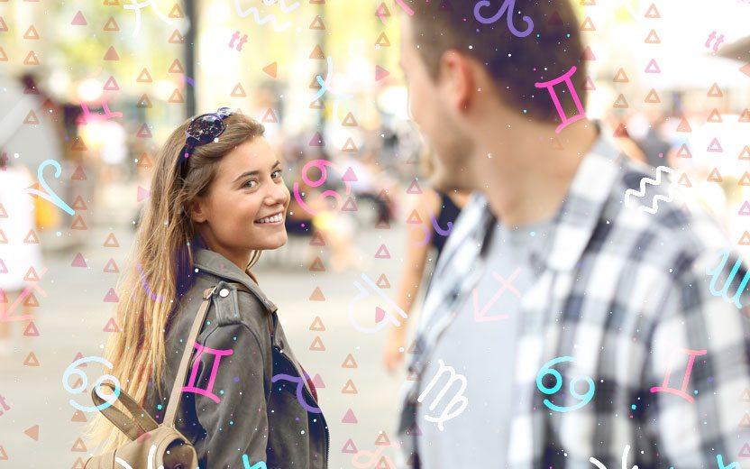 Sinais de interesse de cada signo na hora de flertar