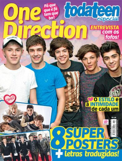 Todateen especial! Tem revista da One Direction pra você!