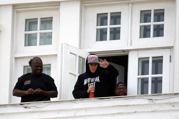 Justin Bieber no Rio de Janeiro