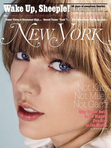 Taylor Swift capa New York magazine