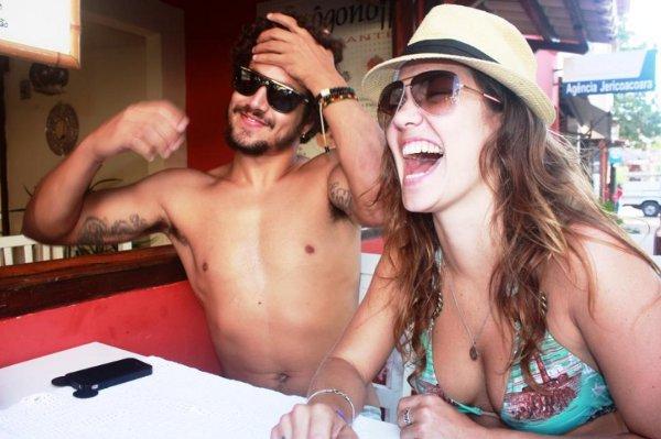 Caio Castro e Carolina