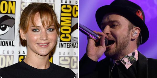 Jennifer Lawrence e Justin Timberlake