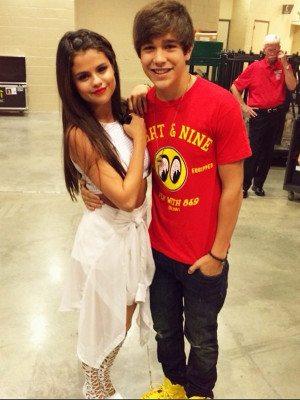 Selena Gomez e Austin Mahone