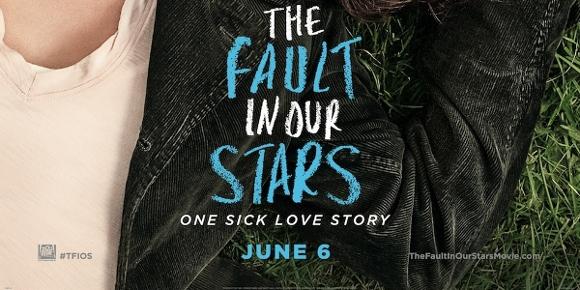 Poster de A Culpa é das Estrelas