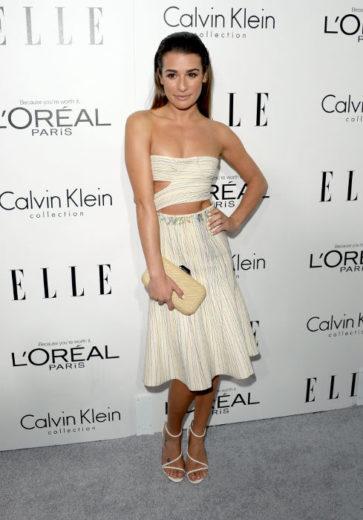 Lea Michele fala sobre Cory Monteith pela primeira vez na tv