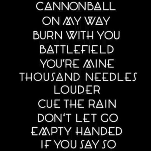 "tracklist ""louder"""