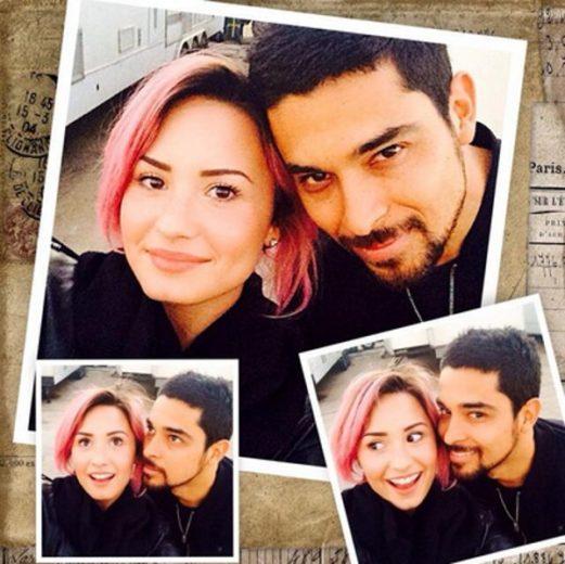 Demi Lovato e Wilmer Valderrama