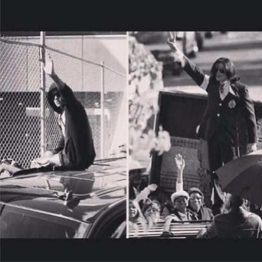 Justin Bieber e Michael Jackson