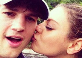 Mila Kunis e Ashton Kutcher estão noivos