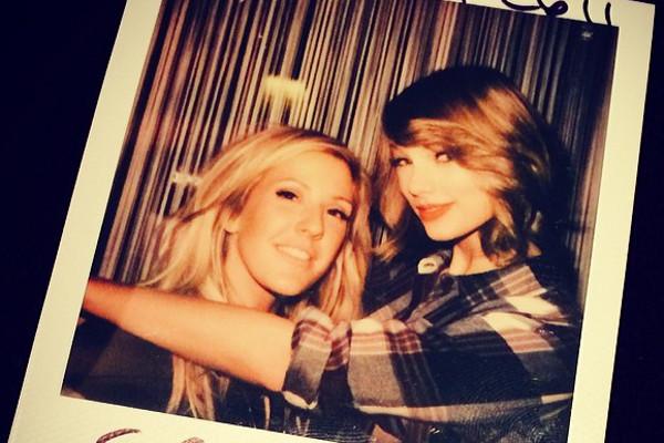 Taylor Swift muda o visual
