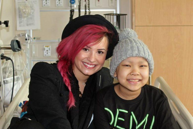 15 momentos em que Demi Lovato foi fofa com os fãs