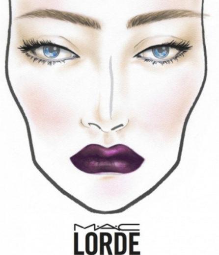 M.A.C anuncia linha de maquiagens em parceria com a cantora Lorde
