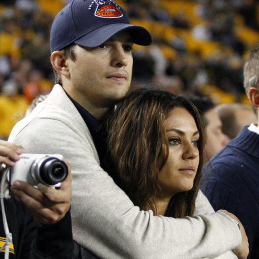 Ashton Kurtcher e Mila Kunis vão viver par romântico na televisão