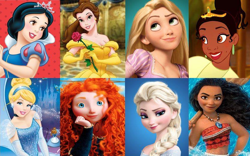 Qual princesa da disney se parece com você?