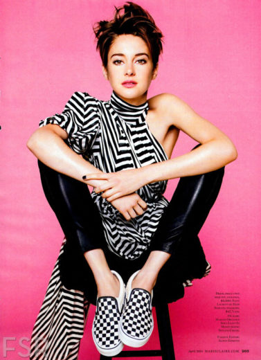 Shailene Woodley na Marie Claire