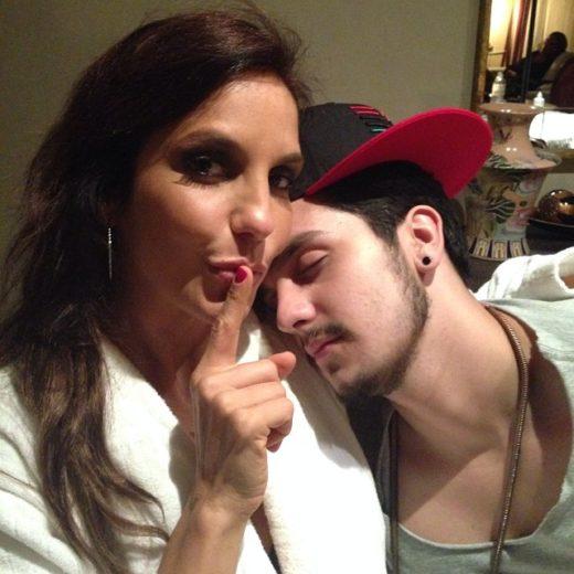 Ivete Sangalo compartilha momentos com Luan Santana