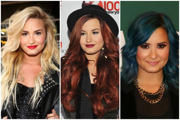 Qual cabelo da Demi Lovato é a sua cara?
