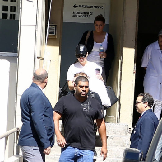 Segurança salva Demi Lovato no Rio de Janeiro