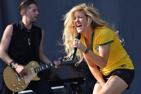 Ellie Goulding agita o Loolapalooza