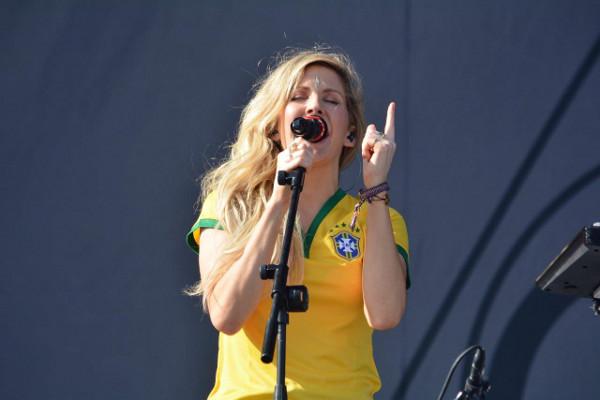 Ellie Goulding agita o Loollapalooza