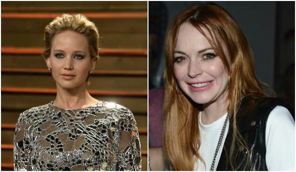 Jennifer Lawrence e Lindsay Lohan