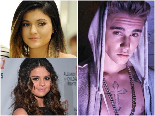 Selena Gomez teria descoberto um suposto affaire entre Justin Bieber e Kylie Jenner