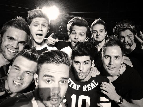 One Direction desembarca no Brasil