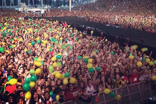 10 Fatos sobre o show da One Direction no Rio de Janeiro