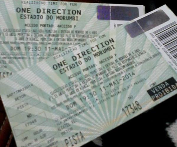 Ganhadora da promoção da todateen conta sua experiência no show da One Direction