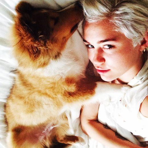 Miley e Emu