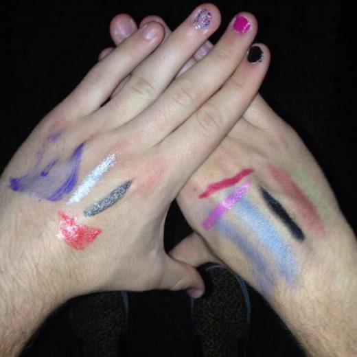 Niall Horan usa make da One Direction