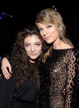 Lorde acha Taylor Swift um ótimo exemplo para os adolescentes