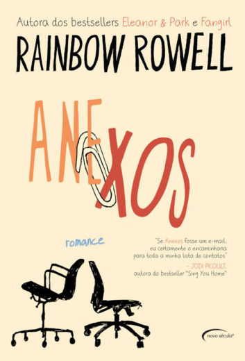 Capa - Anexos - Rainbow Rowell - Brasil