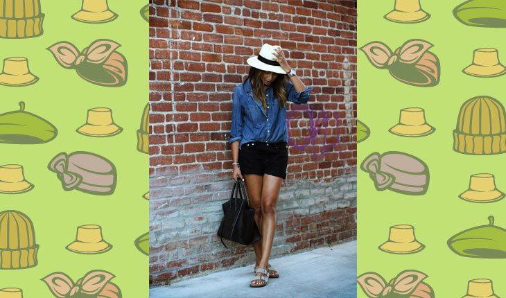 c7acf3f5b0c65 Inspire-se nesses looks com os tipos de chapéu mais comuns