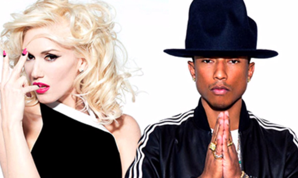 Gwen Stefani e Pharrell Williams